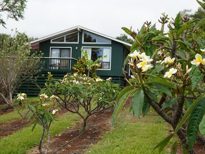 Ke Kīhāpai Bed & Breakfast is also a plumeria flower farm.