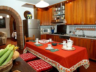 Chiusi villa photo - Villa: full accessorised kitchen, all tools