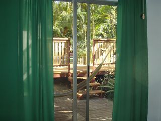 Tamarindo studio photo - View from inside 'Green' cabina.