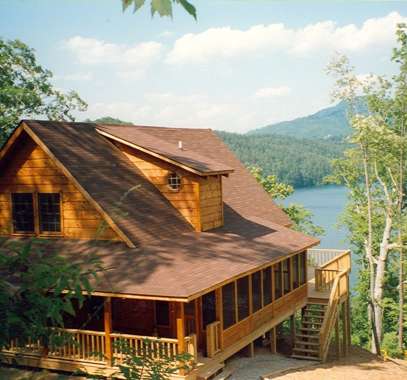 Image Gallery Log Cabin Mountain Lake