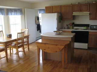 New Paltz house photo - Large Cook's Kitchen; extra fold-out dining table
