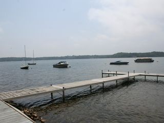 Brewster house photo - Dock on Long Pond