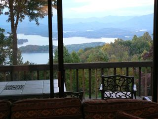 Hiawassee chalet photo - Breathtaking View from Family room