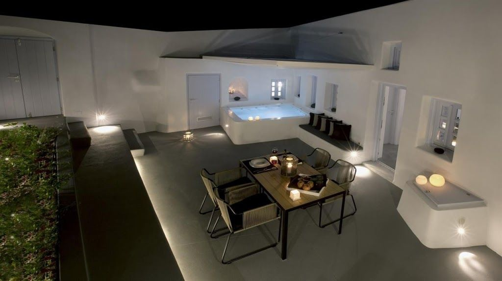in Greek Islands with Terrace, Air conditioning, Washing machine () - Santorin - maison