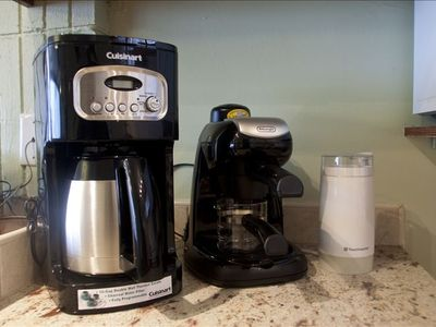 Coffee Area: Coffee Maker with SS Thermos