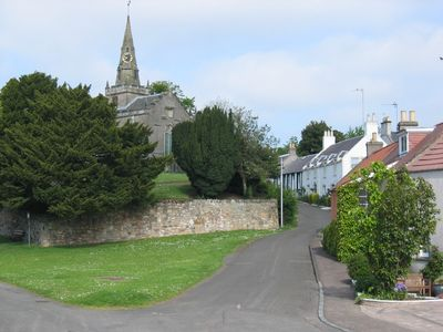 East Neuk of Fife apartment rental - The quiet, pretty village of Upper Largo