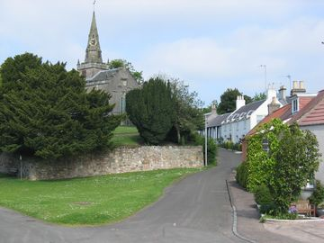 The quiet, pretty village of Upper Largo