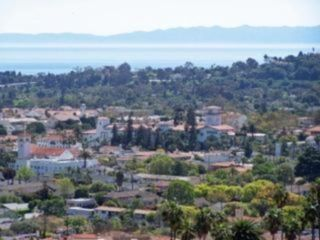 Santa Barbara house photo - Santa Barbara view from home