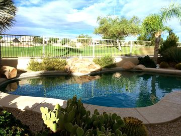 Avondale house rental - Beautiful private pool that that over looks the cold water springs golf course