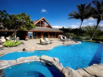 Puako house rental - Imagine relaxing here with family or friends