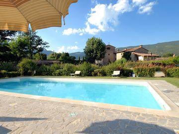 Cortona apartment rental - Molino di Bordone house & pool