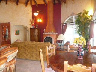 Puerto Penasco house photo - Beautiful Beehive fireplace for those chilly nights.