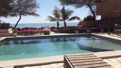 CHARMING HOUSE ON THE BEACH - POOL FENCE ON DEMAND