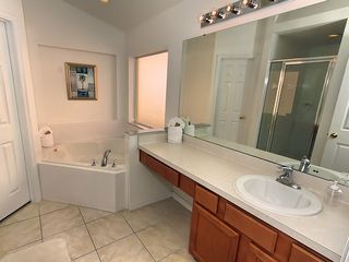 Emerald Island villa photo - Luxurious master ensuite with soaker garden tub & seperate shower.