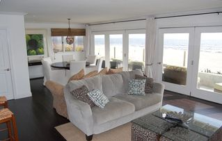 Manhattan Beach house photo - Ocean views from the Entertainment Room