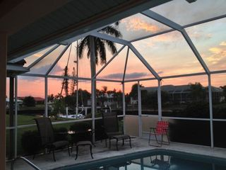 Punta Gorda house photo - We always get asked if we can see the sunset!