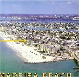 PRIME LOCATION DIRECTLY ON MADEIRA BEACH