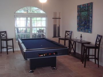 Villa White Ibis - pool table