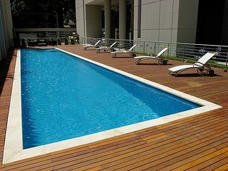 Palermo apartment photo - Big pool to cool off during the summer. Only open in the summer.