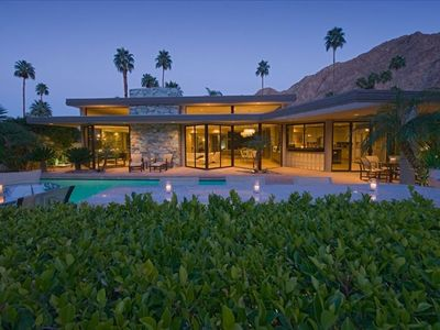 Indian Wells house rental - Back of Home from Golf Course