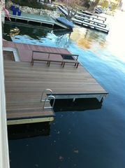 Horseshoe Bay townhome photo - Private dock