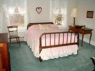 Deer Isle house photo - A second floor bedroom has a large closet and bath across the hall.