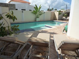 Aruba villa photo - enjoy the sun at the pool