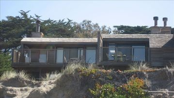 Watsonville townhome rental - Cypress Grove 2 Pajaro Dunes, beachfront ON the dunes, front row on the beach.