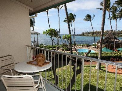 Napili Shores H267 view: One bedroom Ocean view.