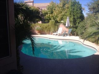 Chandler house photo - View of your private backyard Pool
