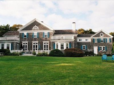 Our Great Gatsby , nine bedroom estate overlooking Nantucket Sound,,, sunny ,,