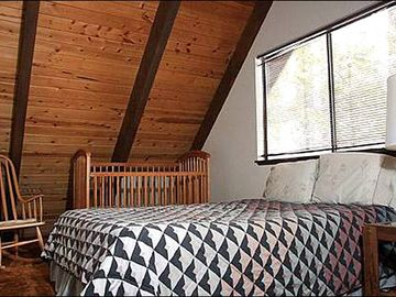 Crib in Upstairs Bedroom