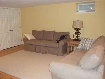 Sitting Area in Basement