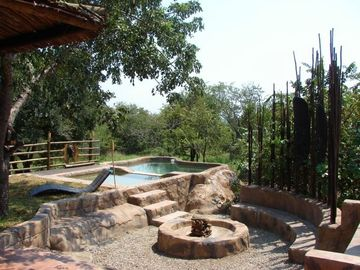 Braai area and swimming pool