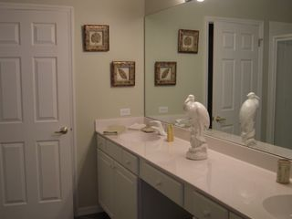 Fort Myers condo photo - Master Bath w His and Her Sinks