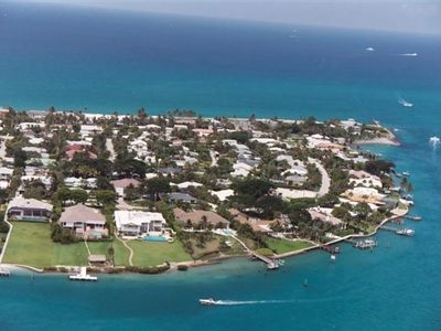 Jupiter Inlet Colony - on the south tip of Jupiter Island