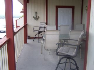 Lake Ozark condo photo - Balcony overlooking Lake