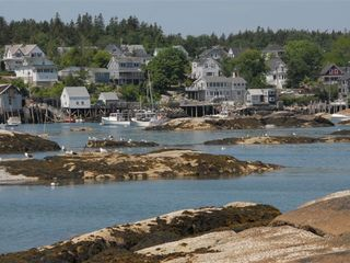 Deer Isle - Stonington house photo - View of Stonington Village from the water