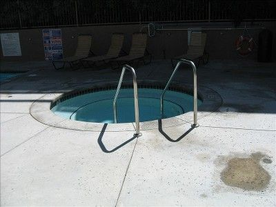 The jacuzzi (next to swimming pool)