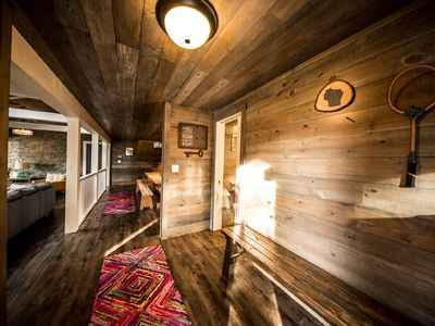 New Mid Century Modern Cabin on beautiful crystal clear Lake Lucerne, Crandon Wi