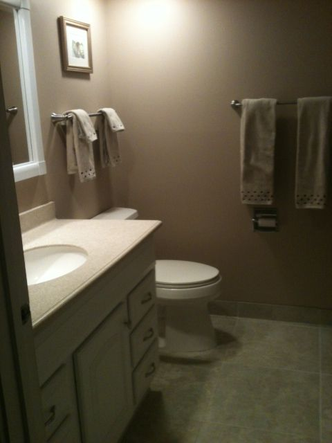 Updated Guest Bath