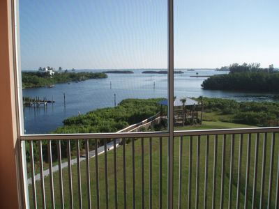 Incredible view of the gazebo, Gasparilla Sound and Charlotte Harbor!