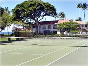 Tennis Court at Puamana