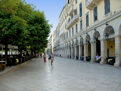 The Liston, Corfu Town