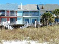 Beachfront Townhouse, Views From All Rooms, Private Balcony, Steps To The Beach