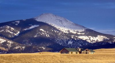 The Mcculley Cabin-surrounded only by mountains, sumptuous and serene.