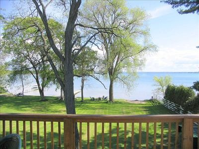 Your Elk Lake View with Sandy Beach