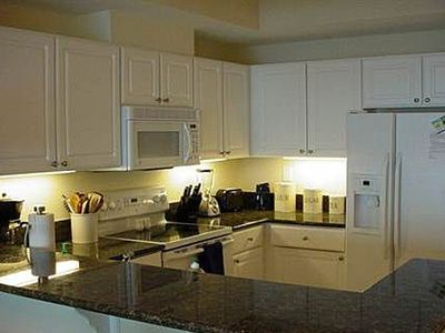 Fully functional granite kitchen!