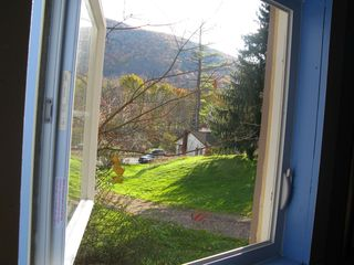 Shandaken cabin photo - View from kitchen window.