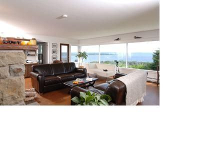 Baddeck house rental - Living Room